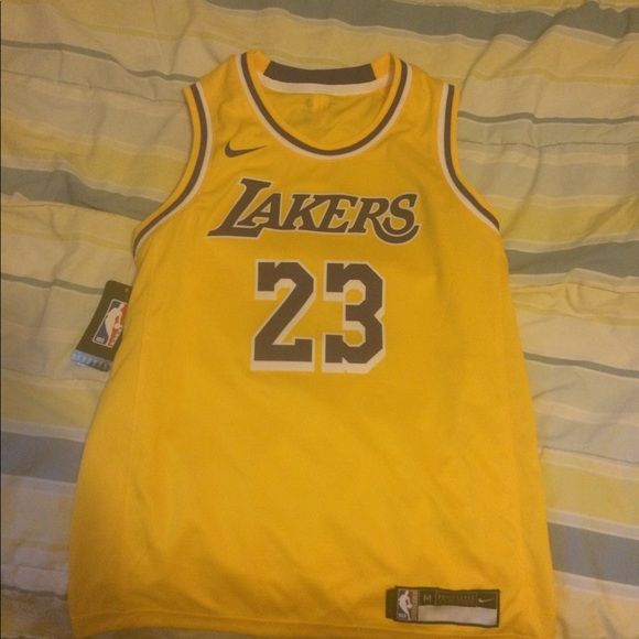 best loved 8fc5d 984c6 Youth Lakers Lebron James Jersey NWT